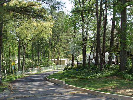 Atlanta Marietta RV Resort Road